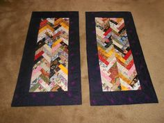 Table runners for a square type table
