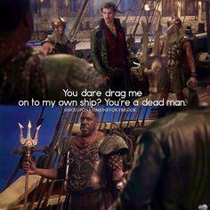 "#OnceUponATime 4x16 ""Poor Unfortunate Soul"" - Hook and King Poseidon and"