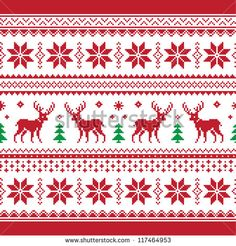 30 Beautiful Picture of Knitting Pattern Christmas . Knitting Pattern Christmas Christmas And Winter Knitted Seamless Pattern Or C Stock Card Patterns, Knit Patterns, Cross Stitch Patterns, Hanging Tapestry, Hanging Wall Art, Wall Hangings, Red Wall Art, Christmas Knitting Patterns, Fair Isle Knitting