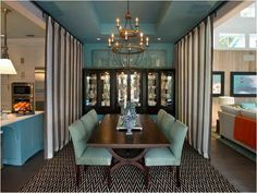 How to Make a China Cabinet with Large Dining Table