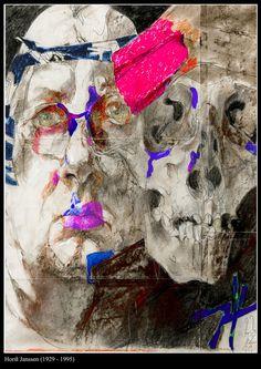 Horst Janssen, Mount Rushmore, Graphic Art, Portraits, Artists, Head Shots, Portrait Photography, Artist, Portrait Paintings