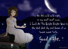 Beautiful good night wishes images