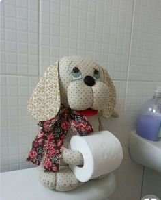 Photo Cat Crafts, Sewing Crafts, Diy And Crafts, Sewing Projects, Projects To Try, Diy Toilet Paper Holder, Toilet Roll Holder, General Crafts, Quilts