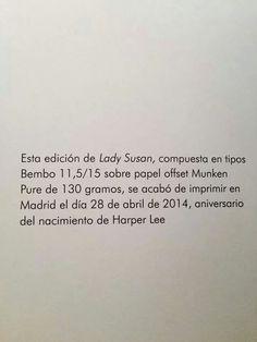 "AUSTEN, Jane. ""Lady Susan"". Olivares, Javier (ilustrador). Madrid: Nórdica, 2014."