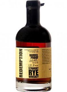 Redemption Limited Edition Barrel Proof Rye Whiskey Batch via Caskers Best Rye Whiskey, Bourbon Whiskey, Whiskey Distillery, Whisky, Westland Distillery, Malt Beer, Liquor Dispenser, Brew Pub, Whiskey Bottle