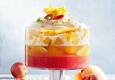 Christmas Lunch, Christmas Cooking, Christmas Recipes, Xmas, Party Desserts, No Bake Desserts, Dessert Party, Party Recipes, Mango Trifle Recipes