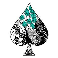 Ace of spade tattoo design