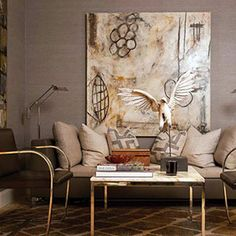 Michelle & Williams | abstract contemporary art, interior decor