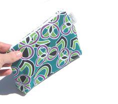 Small Purse Organizer Zipper Pouch Small by SmiLeaGainCreations, $10.00