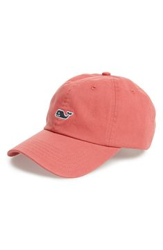 Free shipping and returns on Vineyard Vines 'Whale Logo' Cap at Nordstrom.com. Durable enough to be an everyday cap, this soft cotton twill hat styled with an embroidered whale is great for cruising around town or spending a day at the lake.