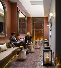 Lobby, Adria Hotel, London, UK