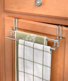 Another great find on #zulily! Over-the-Cabinet Towel Bar #zulilyfinds