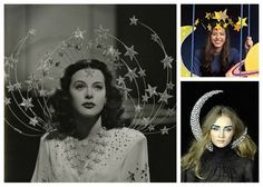 DIY Celestial Halloween costumes. i like that the moon is skewering her neck. Go Alexander McQueen.