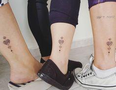 "744 Likes, 38 Comments - Jacke Michaelsen (@jackemichaelsen) on Instagram: ""Tatuagem de mãe filhas  obrigada meninas!!! #tattoo #tattoos #tatuagem #tatuagens #familia #heart…"""