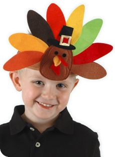 5e8af9d272d Don t go anywhere without a turkey headband this Thanksgiving! Velcro size  adjuster Fits adults and kids