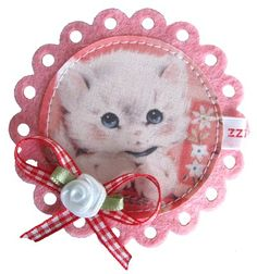 kitty brooch