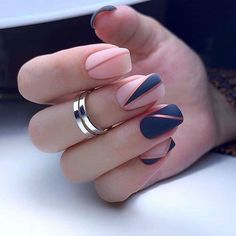 In seek out some nail designs and ideas for your nails? Listed here is our listing of must-try coffin acrylic nails for trendy women. Pink Nail Art, Cute Acrylic Nails, Acrylic Nail Designs, Pink Nails, Cute Nails, Line Nail Designs, Latest Nail Designs, Nagellack Design, Nagellack Trends