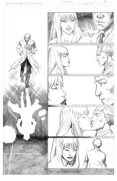The Disease - 7 - Pencil by me - Property of Octane Comics
