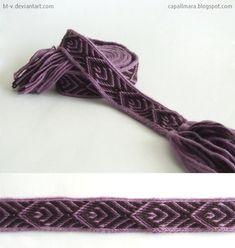 Tablet weaving by bt-v.deviantart.com on @deviantART