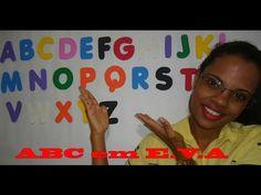 Como fazer letras do ABC em casa em E.V.A. Tutorial - YouTube