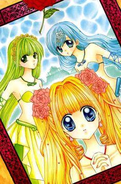Mermaid Melody Pichi Pichi Pitch: Luchia, Hanol y Rina Kawaii, Anime Mermaid, Anime Was A Mistake, Mermaid Melody, Gekkan Shoujo, Chibi Girl, I Love Anime, Otaku Problems, Magical Girl