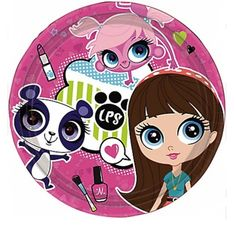 Littlest Petshop Teller Girls Birthday Quality Geschirr Pack Amscan – Wish List for Me Party Animals, Animal Party, Little Pet Shop, Little Pets, Girls Birthday Party Themes, Birthday Parties, Birthday Ideas, Lps, Bday Girl