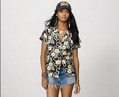 Denim and Supply Hawaiin Shirt