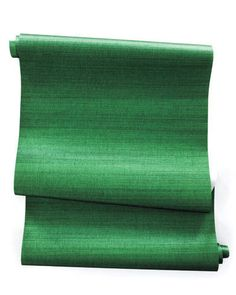 emerald grass cloth // phillip jeffries Green Wallpaper, Contemporary Wallpaper, Houzz, Emerald Green, Entryway, Towel, Entrance, Appetizer, Entry Ways