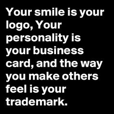 Gevonden online - Your personality is your business card