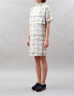 Wood Wood Zea Dress - Chain Print