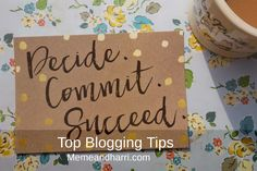 Looking for some blogging tips? 7 bloggers give there most valuable advice.