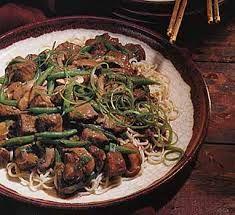 Hoisin Noodles with Yakitori Mushrooms