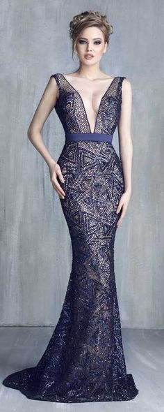 Tony Chaaya Haute Couture 2016 Collection - Evening Dress 9