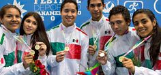 México dominó esgrima del Festival Panamericano