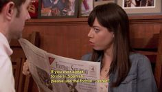 "The 20 Most Relatable April Ludgate Quotes From ""Parks And Recreation"" - BuzzFeed Mobile"