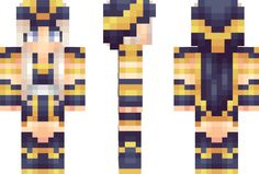 "Ashe ""League of Legends"" Minecraft Skin"