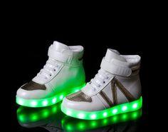3f2de9e33cbb3 MINMAI Big kids Little kids light up shoes Hight Top k50123 Kids Lighting