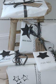 15 IDEAS FOR : A Black + White Christmas