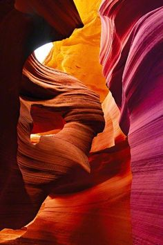 Antelope Canyon, Arizona                                                                                                                                                     More
