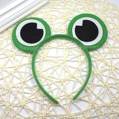 Cute Frog Eyes Halloween Accessories Frog Ears Headband Party Gift Kids Birthday Party Supplies Headwear Party Accessories