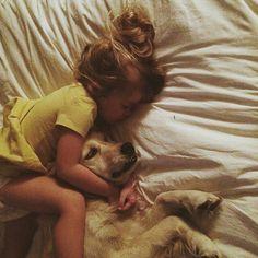 Sleeping with my dog
