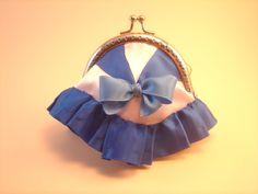 Monedero Sailor Mercury hecho por Bajo una seta #monedero #sailor moon #coin…