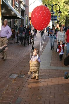 Hot air balloon & Pizza Steve - Halloween Costume Contest at Costume-Works.com | Art I ...
