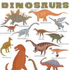 "Dino-mite! Printed on 25% cotton paper. 11 x 14"""