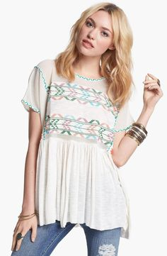 Free People 'Shenandoah' Tunic for $108 / Wantering