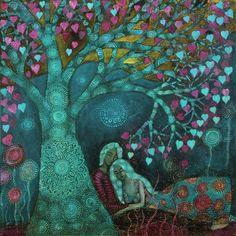 Valentine Tree by  Alice Mason
