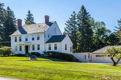 55 Prospect St, Litchfield, CT - 7 Bed, 5 Bath Single-Family Home - 33 Photos Home And Family, Cabin, Bath, Mansions, Connecticut, House Styles, Home Decor, Mansion Houses, Homemade Home Decor