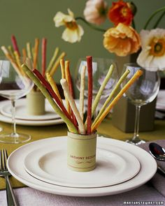 Colorful Breadsticks