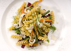 Fusilli Pasta Salad with Vegetables and Squid | Italian Recipes | Academia Barilla