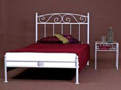 Metallbett weiß 160x200  SAM® Design Himmelbett Venezia in creme, weißes Metall-Bett, 140 x ...
